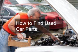 used car motor parts